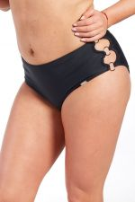 Black-bikinihousut musta