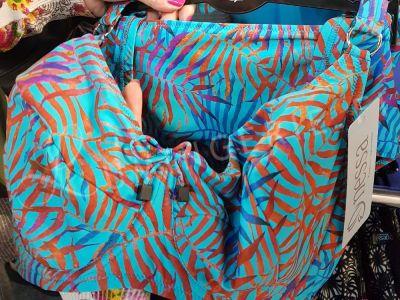 Nessa Swimwear Estella Soft -bikiniliivit lehtiprintti  70-90, D-M