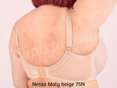 Moly-rintaliivit beigepallo