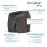 Obviously PrimeMan Bokserit musta-thumb Bokserit 7.5 cm lahkeella <br> 90% Mikromodaali, 10% Lycra<br> S-3XL A00-1A