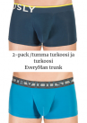 Obviously EveryMan Trunk 2-pack tumma turkoosi ja turkoosi-thumb Trunk 90% Bambu, 10% Lycra<br> S-XL B03-1H/B03-1F