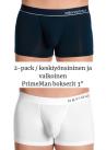 PrimeMan Bokserit 2-pack keskiyönsininen ja valkoinen-thumb