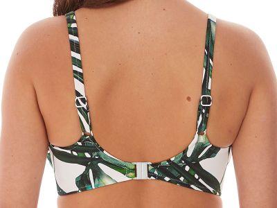 Fantasie Palm Valley UW Padded Balcony-bikiniliivit Fern Kaarituettu, kevyesti topattu balconettemallinen bikiniliivi 70-90, D-K FS6761-FEN