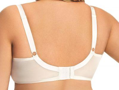 Gorsenia Paradise Soft -rintaliivit kermanvalkoinen Kaarituettu, toppaamaton 65-100, D-M K496-CRE