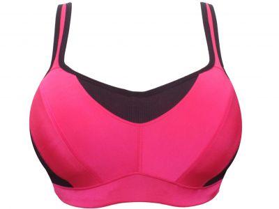 Parfait Active -urheilurintaliivit PW musta-pinkki