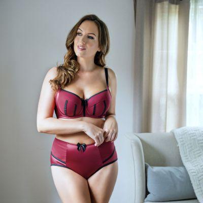 Charlotte korkeavyötäröiset alushousut Rio Red