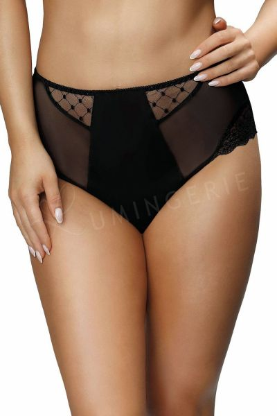 Paris korkeavyötäröiset alushousut musta