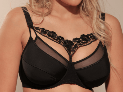 Pauline-rintaliivit musta