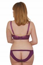 Peek-A-Boo Cheek -alushousut violetti