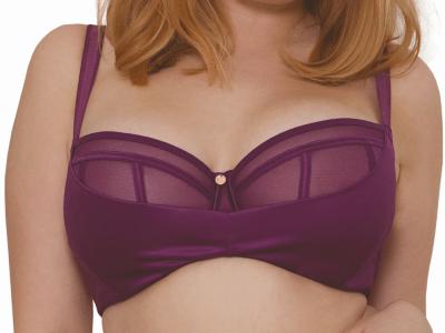 Peek-A-Boo -rintaliivit violetti