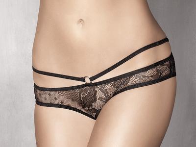 Anaïs Permission-alushousut musta