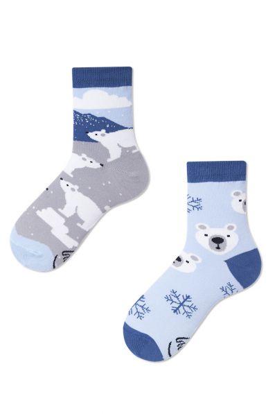 Many Mornings Polar Bear Kids -sukat 1 pr  23-26, 27-30, 31-34 K10