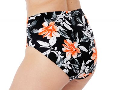 Fantasie Port Maria Full Brief -bikinihousut Black Floral  38-46 FS6897-BLK
