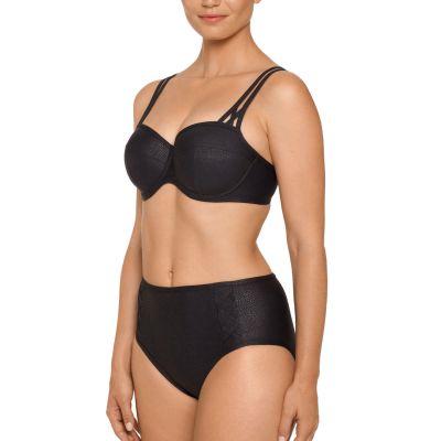PrimaDonna Freedom Padded Balcony -bikiniliivit musta Kaarituettu, topattu bikiniliivi muunneltavilla olkaimilla 70-85, D-H 4004416-ZWA