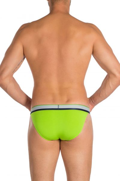 PrimeMan Bikini brief lime