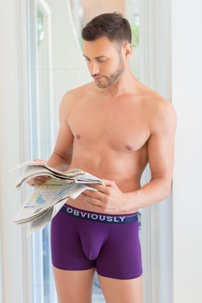 PrimeMan Bokserit violetti