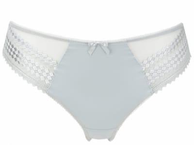 Rebecca-alushousut valkoinen