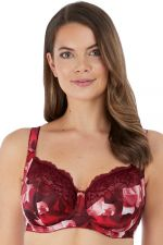 Rosemarie Soft Side Support -rintaliivit Rouge