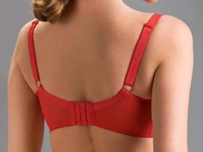 Rubin-rintaliivit punainen
