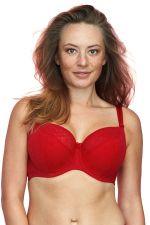 Sandy Semi Soft -rintaliivit punainen