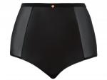 Unleash -korkeavyötäröiset alushousut musta wetlook