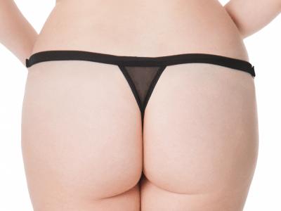 Unleash-stringit musta wetlook