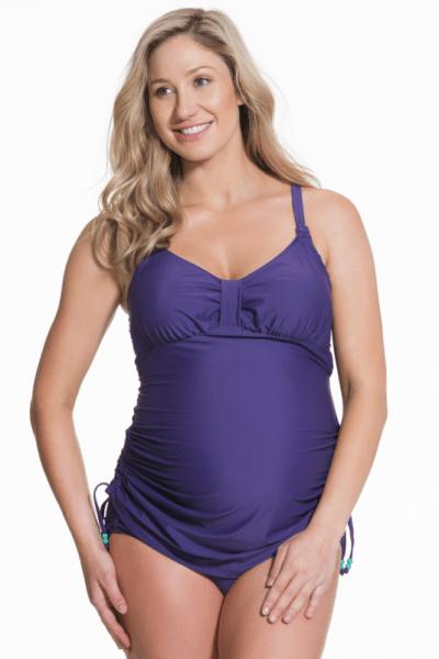 Shake -tankini & bikinihousut -setti violetti