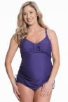Shake -tankini & bikinihousut -setti violetti-thumb