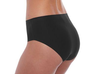 Fantasie Smoothease Stretch Brief -alushousut musta Perinteinen midimallin housu, sivukorkeus noin 10 cm. XS-XL FL2329-BLK