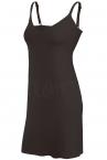 Julimex Lingerie Soft & Smooth -alusmekko musta-thumb  S-2XL JXL-HALKA