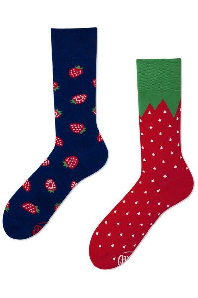 Many Mornings Strawberries Regular -sukat 1 pr  35-38, 39-42, 43-46 R10