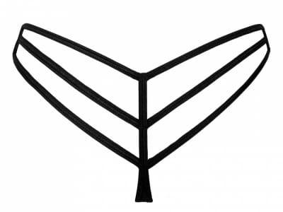 Stripes-stringit musta