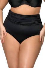 Basic Black High Waist korkeavyötäröiset bikinihousut musta