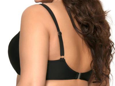 Ava Swimwear Basic Black UW Padded -bikiniliivit musta  65-100, D-L SK-13-BLK