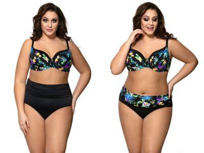 Ava Swimwear Blue Tropical UW Soft -bikiniliivit  65-100, D-L SK-119