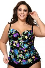 Blue Tropical UW Padded -tankini