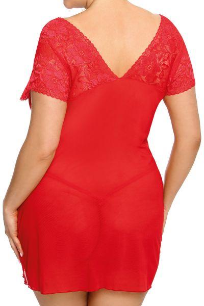 Anaïs apparel Anaïs+ Sydney-pitsimekko punainen  XL-6XL