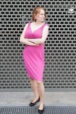 Tuba-mekko pinkki