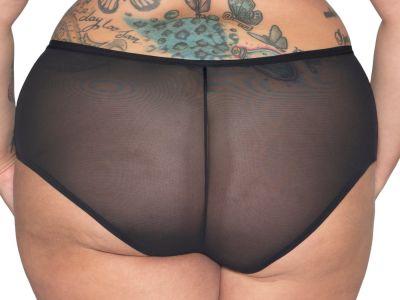 Curvy Kate WonderFull-alushousut musta Short-mallin alushousut 38-50 CK-018-201-BLK