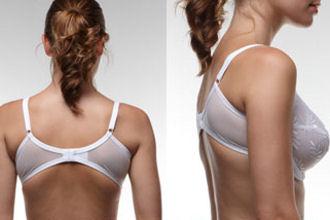 Jos rintaliivit nouse ylös selästä, on liivien ympärysmitta liian suuri.